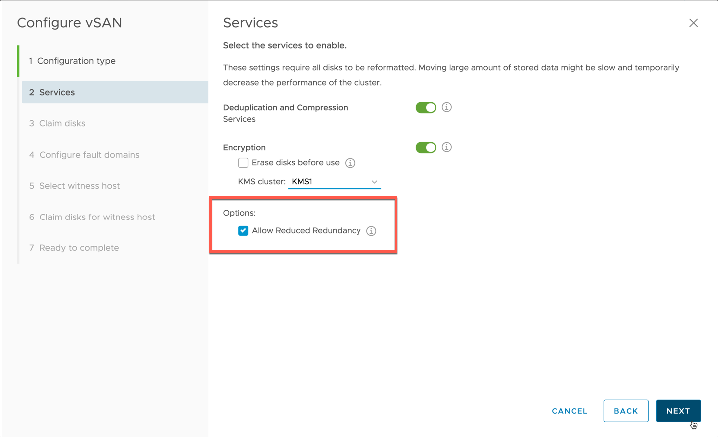 Configure Services