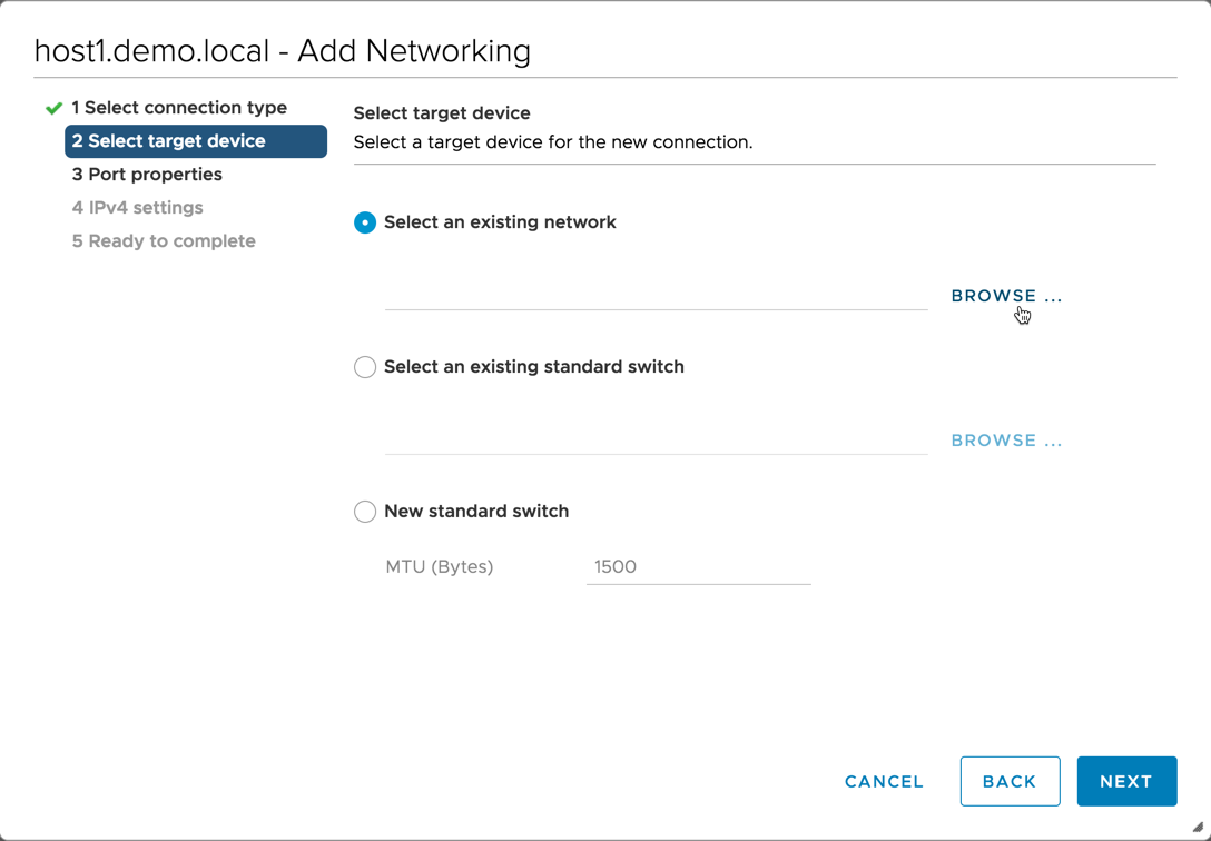 vSphere Distributed Switch