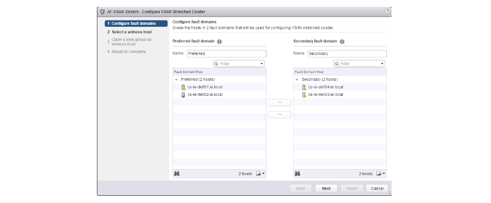 vSAN stretched