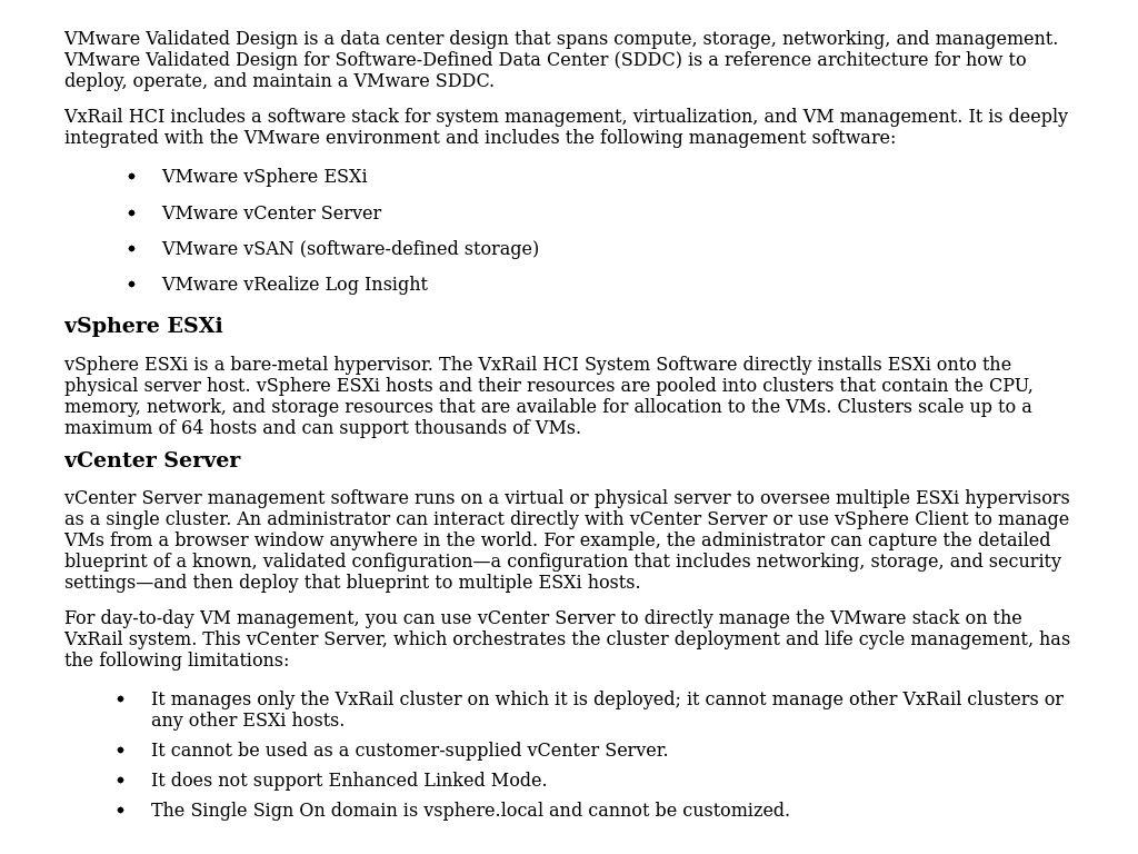 Vxrail System Management Microsoft Sql Server 2019 Big Data Cluster On Dell Emc Vxrail Dell Technologies Info Hub